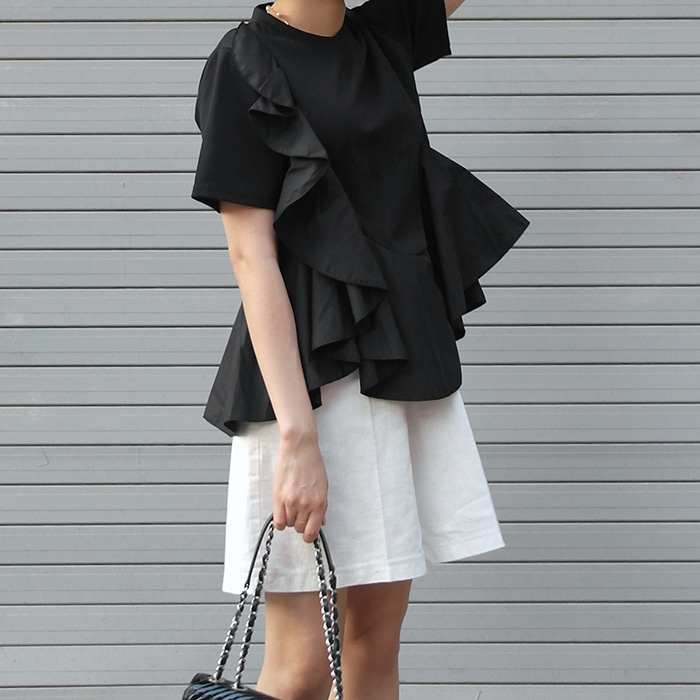 Ruffled & Frilled T