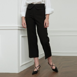 Signature Belted Trousers