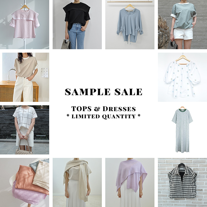 SAMPLE SALE - TOPS