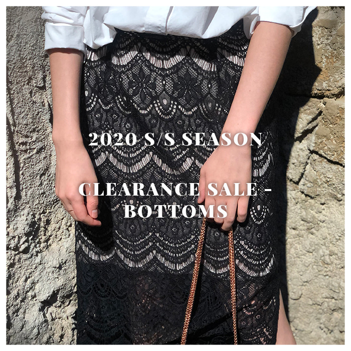 CLEARANCE SALE - BOTTOMS