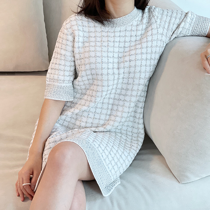 Knitted Spring Dress